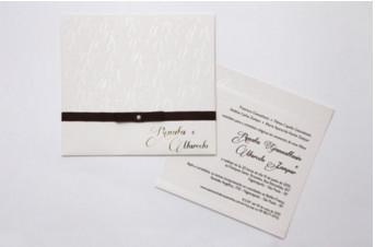 Convites de casamento Premium – Renata