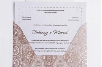 Convites de casamento Premium – Talu