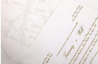 Convites de casamento Platinum – Tuanny