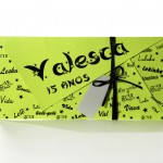 Convite debutantes – 15 anos – Valesca