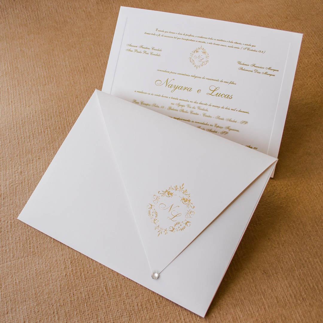 Convites de casamento tradicionais lucas for Papel barato pared