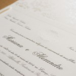 Convite de casamento em promoção