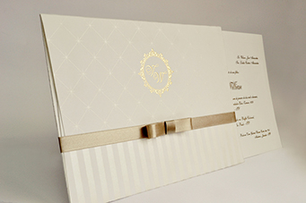 Convites de casamento tradicionais – Wilson