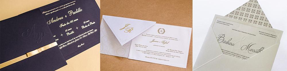 Convites de casamento em Santo andré