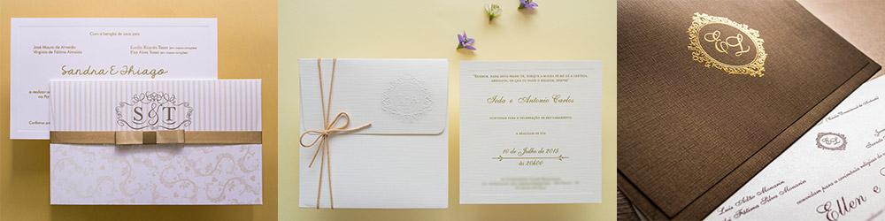 Convites de casamento em Recife