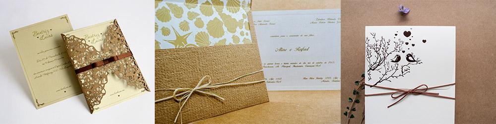 Convites de casamento em fortaleza - convites praia