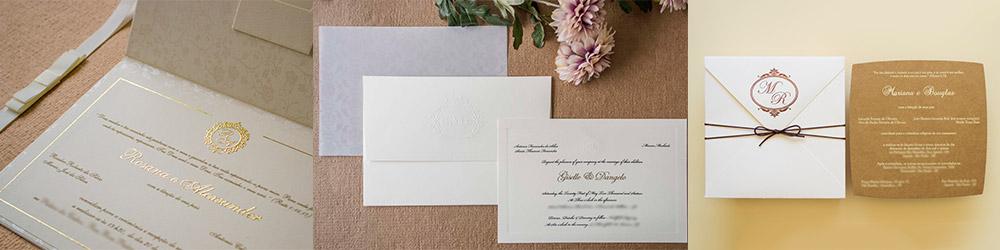 Convites de casamento em Goiania