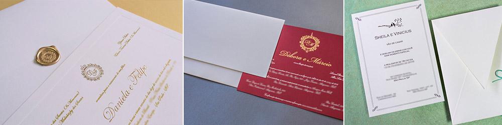 Convites de Casamento em Porto Alegre