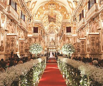 Convites de casamento no rio de janeiro - igreja nossa senhora do carmo