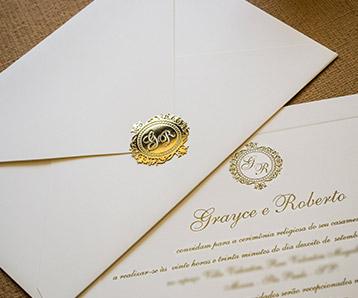 Modelo de convites de casamento em belo horizonte bh