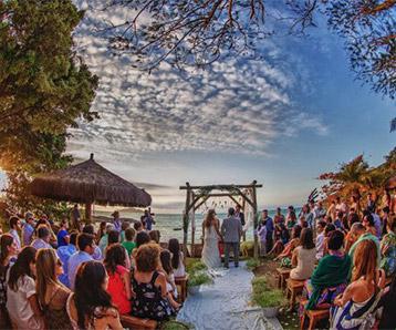Convites de casamento no rio de janeiro - Praia da tartaruga