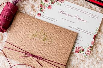 Convites de casamento no campo - Cristiano