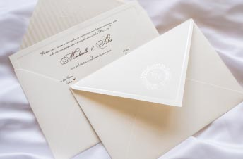 Convite de casamento em promocao - Convite Alex