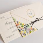 Convite de casamento moderno no campo papel e estilo (3)