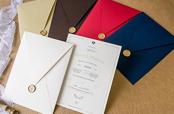 Convites de casamento modernos – Kiara