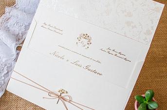 Convites de casamento tradicionais – Luis Gustavo