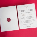 Convites de casamento modernos Andre papel e estilo (1)