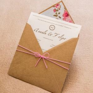 Convites de Casamento Simples gustavo