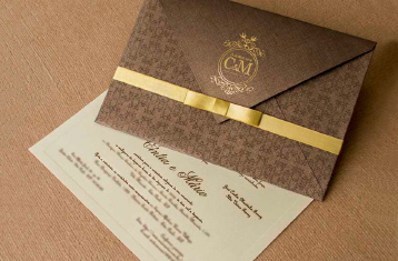 Convites de casamento Rústico - Cintia