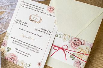 Convites de casamento Modernos - Thiago