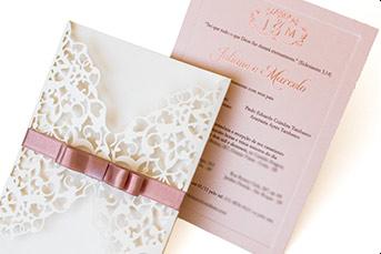 Convites de casamento rusticos para casamentos na praia - Juliane