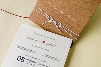 Convites de casamento no campo Pablo