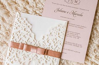 Convites de casamento Modernos - Love