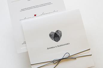 Convites de casamento Modernos - Digitais