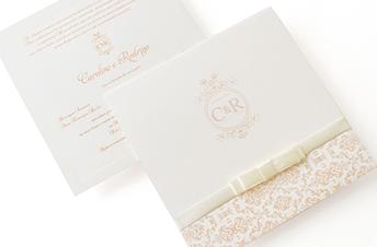 Convites de casamento Tradicionais – Rodrigo