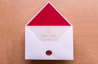 Convites de casamento moderno – Fabia