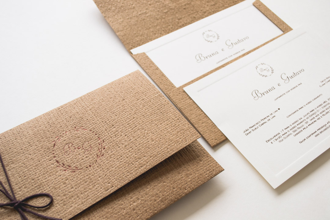 Convite de casamento no campo bruna for Papel de pared rustico