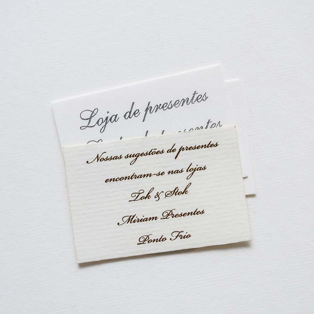 Convites Individuais Entenda A Função Dos Mini Cards