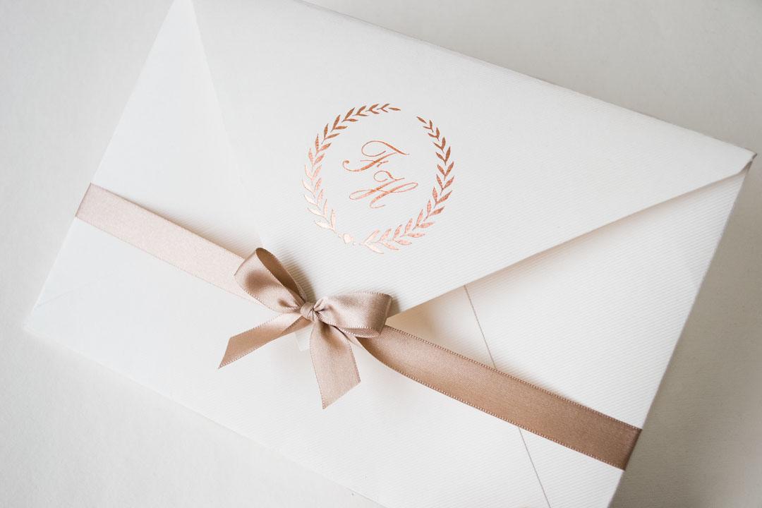 Convite De Casamento Rosa Nude Papel E Estilo