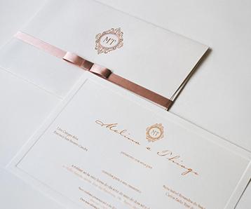 Convites de casamento em São José dos campos
