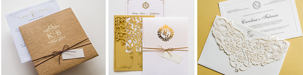 Convite de casamento em franca sp