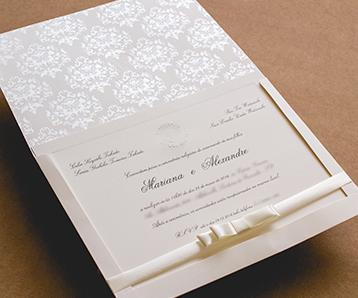 Convite de casamento em alphaville
