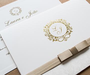 Convites de casamento em sao vicente Papel e Estilo
