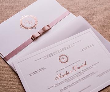Convites de Casamento no Guarujá