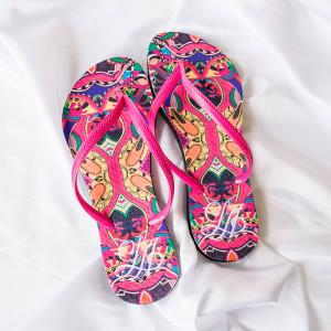 Chinelos personalizados Carnaval