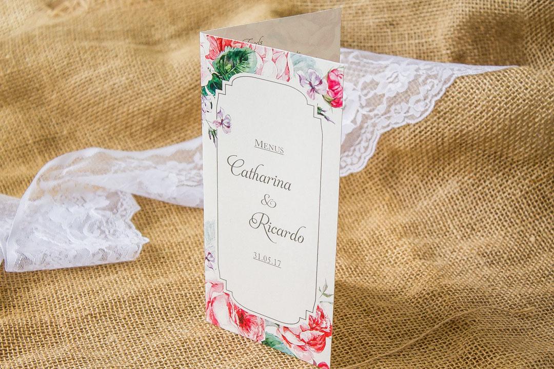 Cardápio de Casamento