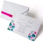 Convite Flores de Hibiscos