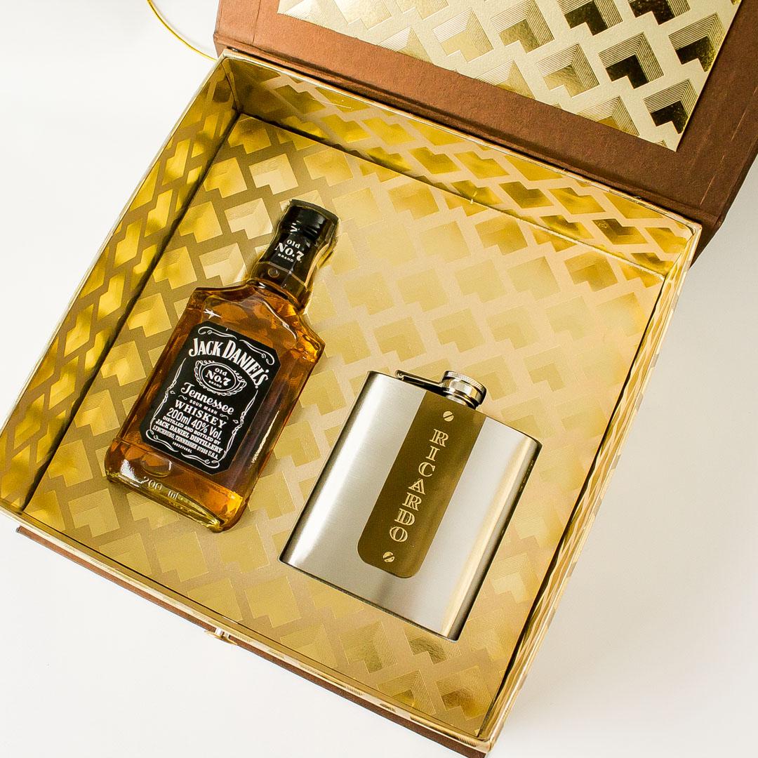 Caixa Ouro Nobre Jack Convite Papel E Estilo
