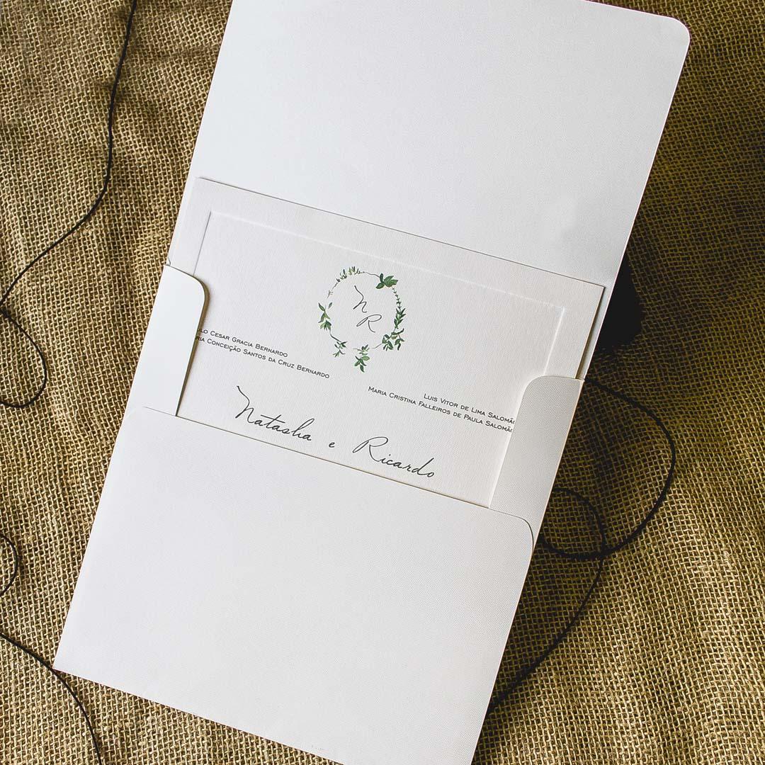 Convites de casamento - Natasha
