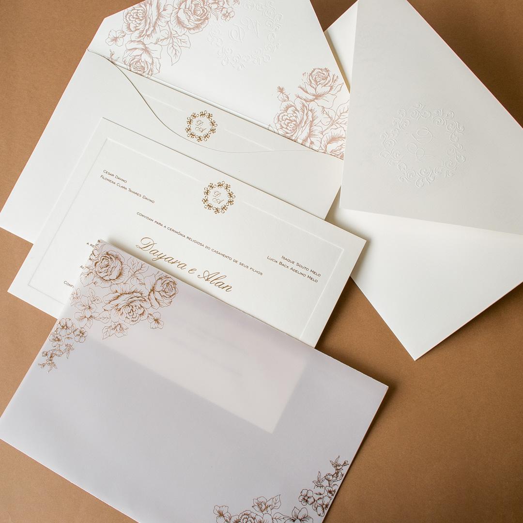 Convites de casamento - Day