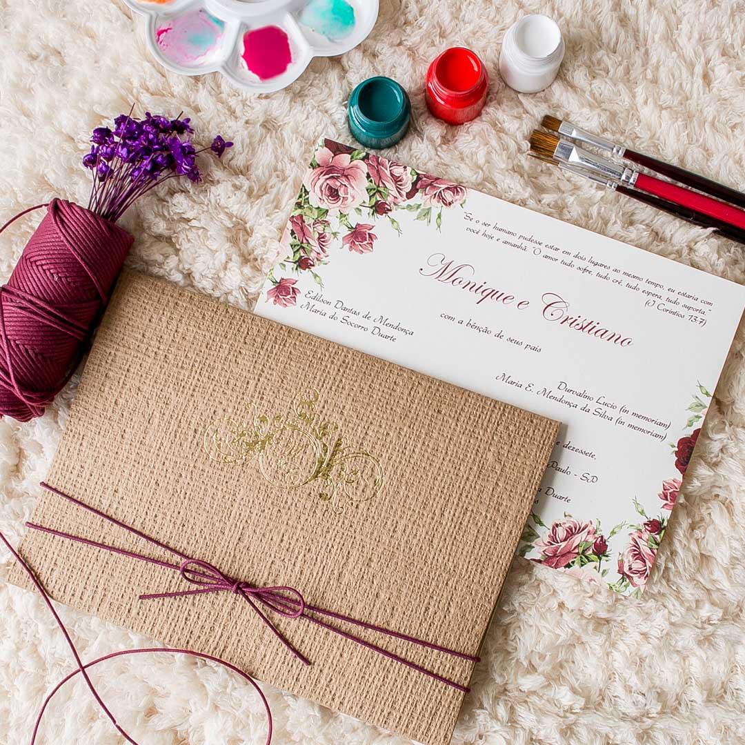 Convites de casamento Cristiano