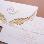 Convite de casamento modelo Adelia