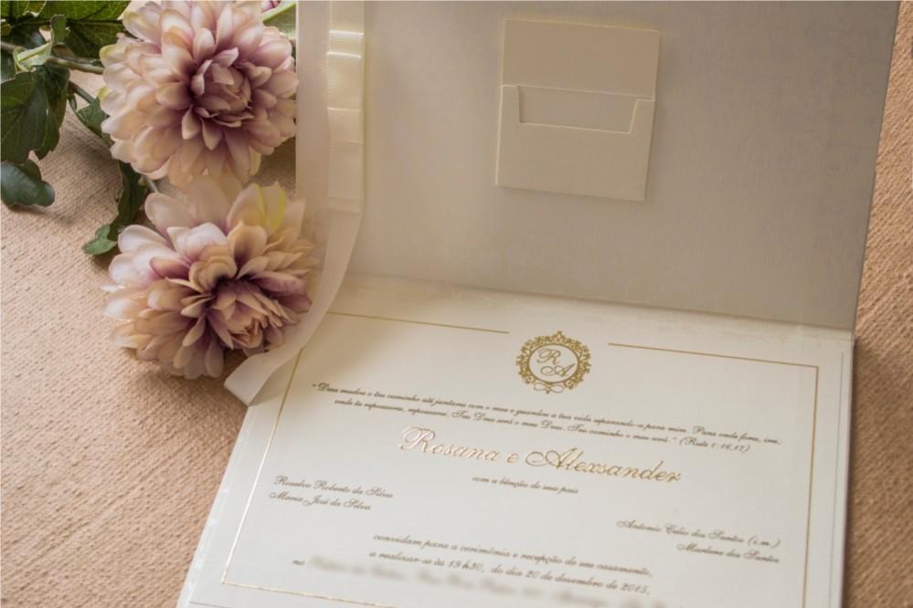 Impressão para o convites de casamento