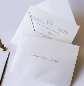 Caligrafia Convite de Casamento