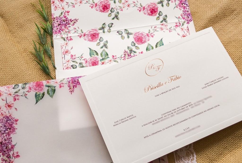 Confirmação de presença no casamento
