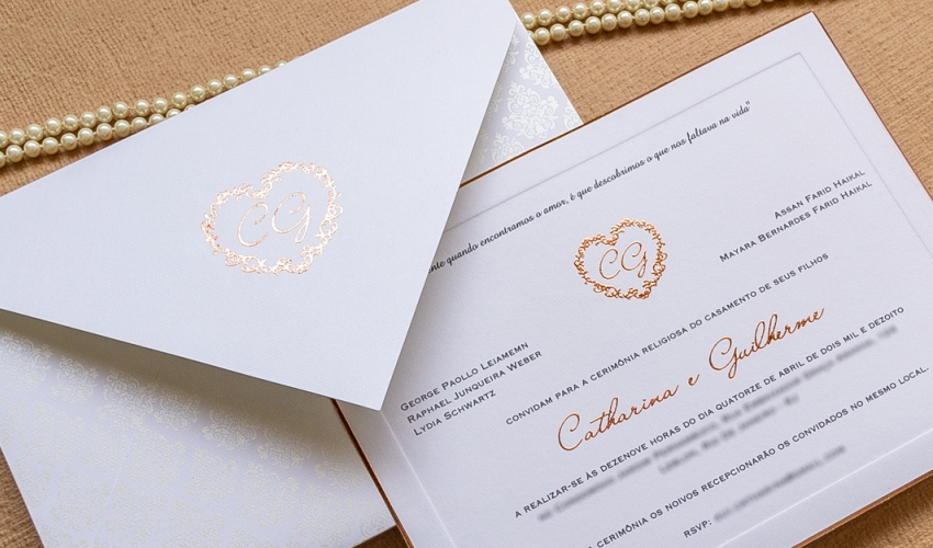 Brasão de casamento - HMP